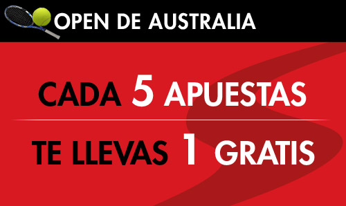 Apuesta en el Australian Open con Sportium y gana 150€ en bonos