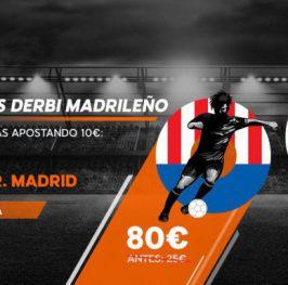 Real Madrid a cuota 11 y Atlético de Madrid a cuota 8, solo aquí:
